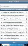 Weight Loss Tricks screenshot 1/4