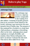 Rules to play Yoga screenshot 4/4