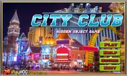 Free Hidden Object Games - City Club screenshot 1/4