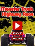 Monster Truck Highway Race screenshot 1/3