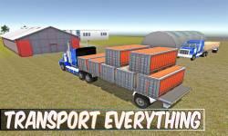 Cargo Transport Truck Driver screenshot 3/5