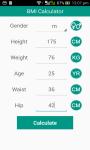 BMI Calculator For Health screenshot 2/6