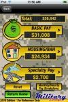 MilPay - Military Pay Charts and BAH screenshot 1/1