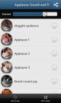 Applause sounds and ringtones screenshot 2/4