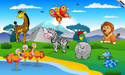 New Kids and Toddler Puzzle Animals screenshot 1/6