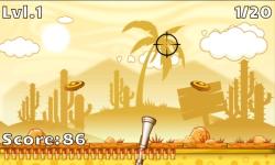 Skeet Shooting Game screenshot 1/2