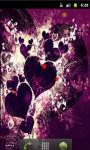 Heart Love Emo Live Wallpaper screenshot 1/5