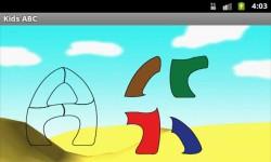 Kids ABC Puzzles-Kids Educational Game screenshot 1/4
