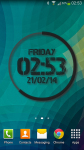 eXtreme Clock Live Wallpaper screenshot 1/6