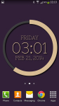 eXtreme Clock Live Wallpaper screenshot 3/6