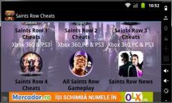 Saints Row Cheats  1 2  3 and 4 screenshot 2/4