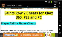 Saints Row Cheats  1 2  3 and 4 screenshot 3/4