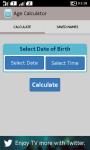 Age Calculator and Share screenshot 1/4