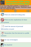 Precautions using Social Networking Sites screenshot 3/4