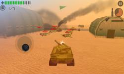Tank Battle 3D: Desert Titans screenshot 4/6