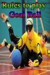 Rules to play Goal Ball screenshot 1/3