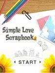 Simple Love Scrapbook screenshot 2/4