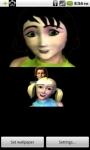 Kaleidoscope Face Live Wallpaper screenshot 5/6