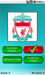 English Football Club Quiz - Pendrush screenshot 2/3
