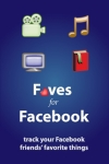 Faves for Facebook: Track and find your friends' favorite movies, songs, and books! screenshot 1/1