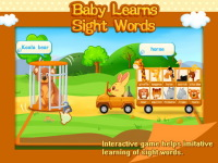 Baby Learns Sight Words -01 screenshot 1/5