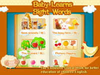 Baby Learns Sight Words -01 screenshot 2/5