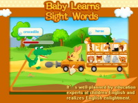 Baby Learns Sight Words -01 screenshot 3/5