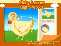 Baby Learns Sight Words -01 screenshot 4/5