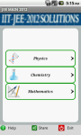 IIT-2012 with Solved Answer Key screenshot 2/6