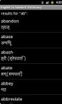 English to Sanskrit Dictionary screenshot 4/4