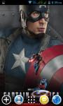 Captain America Live Wallpapers screenshot 2/4