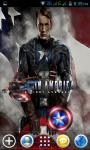 Captain America Live Wallpapers screenshot 3/4