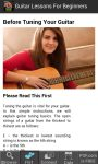 Guitar Lessons for Beginners screenshot 2/4
