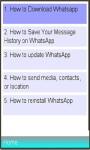 WhatsApp Installation and Usage screenshot 1/1