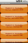 Cricket Matches screenshot 2/5
