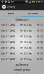 Gymmy Workout Log LITE screenshot 4/4