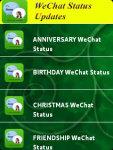 WeChat App Funny Status screenshot 2/3