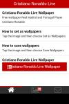 Cristiano Ronaldo Live Wallpaper Free screenshot 2/5