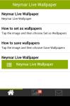 Neymar Live Wallpaper Free screenshot 2/5