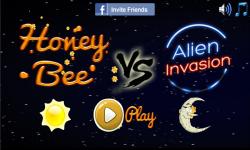 Honey Bee vs Alien Invasion screenshot 1/3