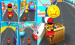 Pizza delivery boy street - New subway screenshot 2/2