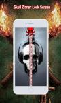 Skull Zipper Lock Screen screenshot 1/6