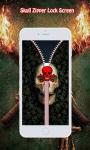 Skull Zipper Lock Screen screenshot 4/6