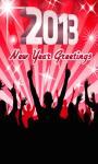 2013 New Year Greetings  screenshot 1/6