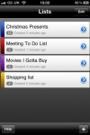 ezList (the easy list and todo app) screenshot 1/1