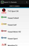 Free Sports Tv Live screenshot 2/5