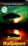 Sunset Wallpaper App screenshot 1/4
