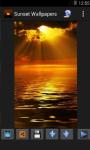Sunset Wallpaper App screenshot 3/4