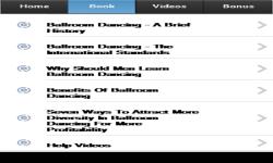 Ballroom Dancing App screenshot 2/3