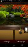 Live Wallpaper Zen Garden  screenshot 1/4